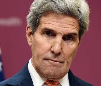 США настаивают на дипломатическом урегулировании ситуации в Украине – Керри