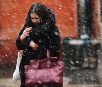 В Украине ближайшие сутки ожидается небольшой мокрый снег