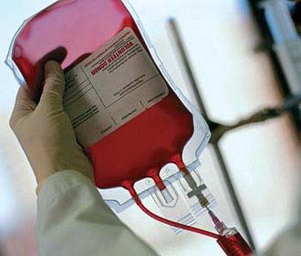 Рада запретила вывозить донорскую кровь из Украины