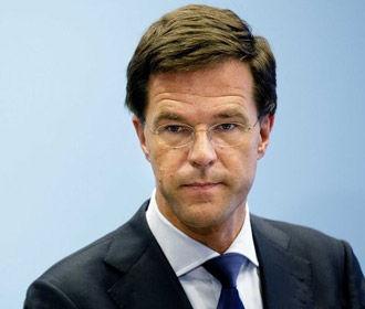 Премьер Нидерландов попросил у парламента дополнительное время для решения по Украине