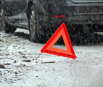 В Киеве с начала снегопада случилось более 300 ДТП