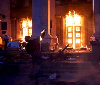 В МВД отрапортовали о трех обвинительных актах и одном приговоре по делам трагедии в Одессе
