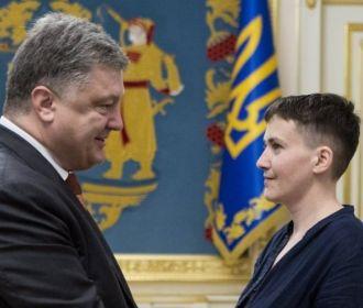 """Савченко рассказала, как Порошенко """"проиграл"""" Украину"""