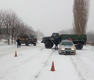 В Херсоне из-за непогоды закрыли дороги для грузовиков