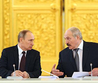 Лукашенко подозревает Москву в попытках инкорпорировать Беларусь в Россию