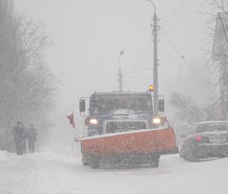 Синоптики прогнозируют сильные снегопады на севере и западе Украины
