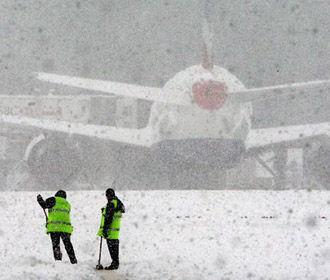 Во львовском аэропорту начались проблемы с рейсами из-за непогоды