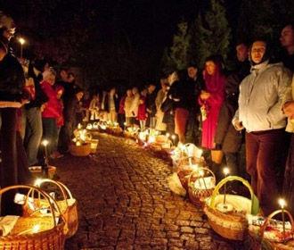 Пасха на «Интере»: схождение Благодатного огня, праздничное богослужение и слово Предстоятеля