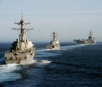 США направили военные корабли в Тайваньский пролив возле Китая