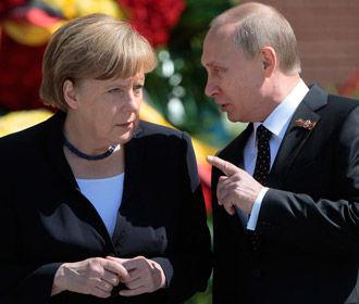 """Путин """"на пальцах"""" объяснил Меркель и Макрону провокацию Киева"""