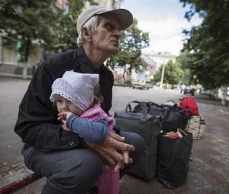 Кризис с переселенцами в Украине самый большой со времен событий на Балканах - ООН