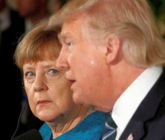 Меркель и Трамп призвали Россию повлиять на Дамаск
