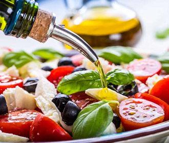 Средиземноморская диета - спасение от внутреннего ожирения