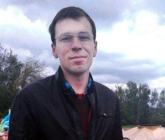 В Житомире радикалы плеснули в глаза зеленкой журналисту Муравицкому
