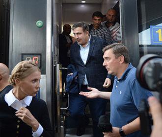 Саакашвили поддержал выдвижение Тимошенко кандидатом в президенты