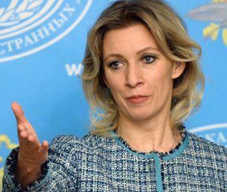 Захарова назвала очередным шулерством заявления о встрече главы МИД Британии с Лавровым