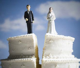 В Украине выросло количество разводов