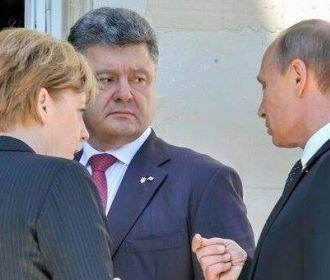 """Порошенко: Путин продавливает """"формулу Штайнмайера"""", чтобы добиться отмены санкций"""