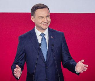 Дуда выиграл выборы в Польше