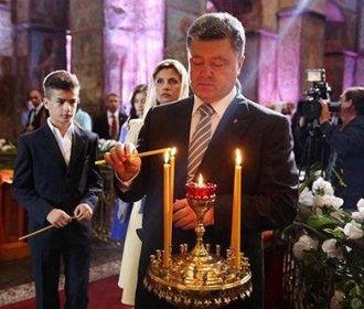 Порошенко: Я сделаю все необходимое, чтобы сохранить религиозный мир в Украине