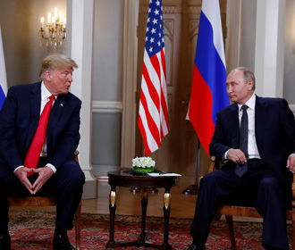 В Хельсинки завершилась беседа тет-а-тет Путина и Трампа