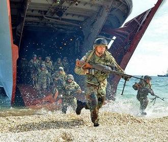 На Азовском море начались учения по отпору возможной военной агрессии РФ