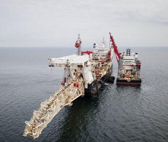 """Газпром: """"Северный поток-2"""" построен на 81%"""