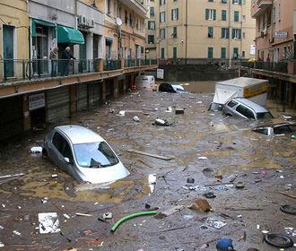 Число жертв непогоды в Италии возросло до 17 человек