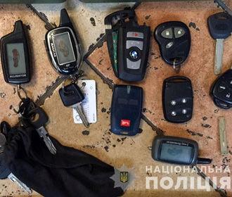 Полиция задержала банду, угнавшую десять авто в Киеве и области