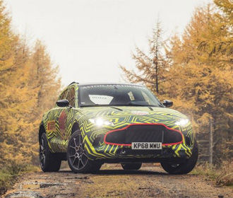 Aston Martin показал прототип своего первого кроссовера