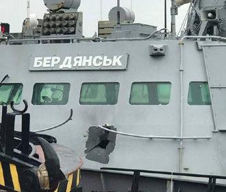 """В сети появилось фото повреждения на катере """"Бердянск"""""""