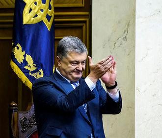 Порошенко: Новая люстрация может свидетельствовать о намерениях наказать тех, кто защищал Украину от российского вторжения