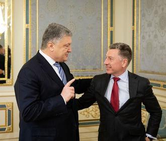 Порошенко провел встречу с Волкером