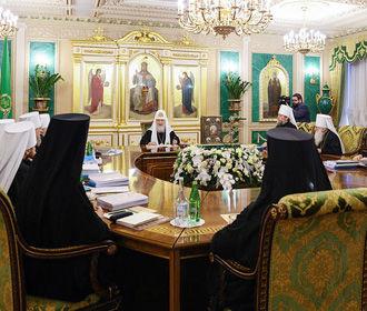 Синод РПЦ призвал православные церкви мира не признавать ПЦУ