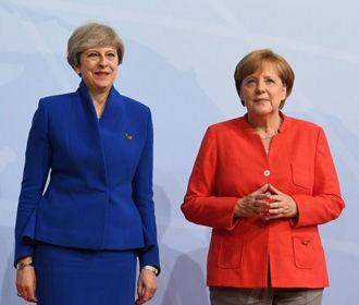 Меркель: Евросоюз ждет от Мэй предложений по Brexit