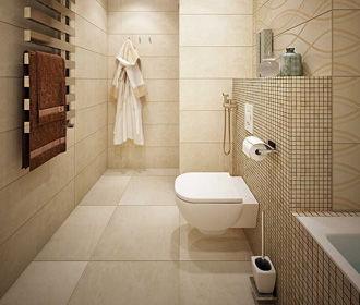 Мозаика в дизайне ванной и кухни
