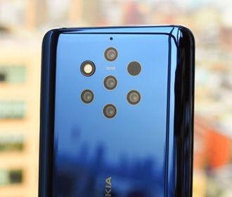 Nokia представила свой флагман с пятью камерами