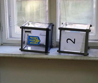 Место голосования перед выборами в Раду изменили более 13 тыс. человек