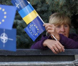 Почти 70% украинцев поддержали бы на референдуме вступление Украины в ЕС