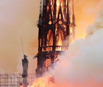В МВД Франции требуют, чтобы политики не говорили о поджоге Собора Парижской Богоматери