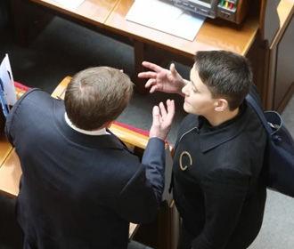 Савченко пришла в Раду