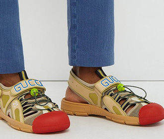 Gucci высмеяли за «клоунские ботинки» за 700 евро