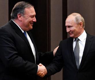 Путин и Помпео не говорили об Украине - Песков