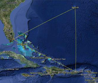Раскрыто загадочное происхождение Бермудского треугольника