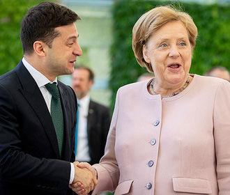 Пресс-служба Зеленского исказила содержание беседы с Меркель