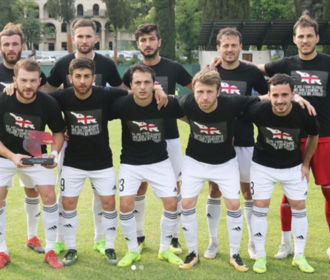 УЕФА отказался наказывать грузинских футболистов за антироссийскую акцию