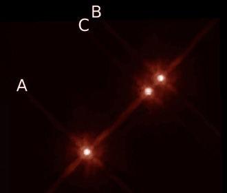 Найдена невозможная планета с тремя солнцами