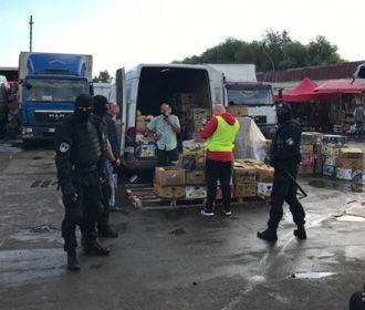 На рынке в Киеве задержали 59 мигрантов