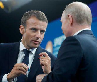 Путин согласен работать над решением кризиса в Беларуси с привлечением ОБСЕ - Макрон