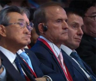 Путин Медведчуку: в ближайшее время будет совместно с Киевом объявлено о решениях по обмену